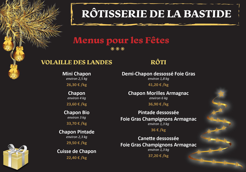 LES COMMERCES DE LA BASTIDE-Rotisserie-flyer-1912-1