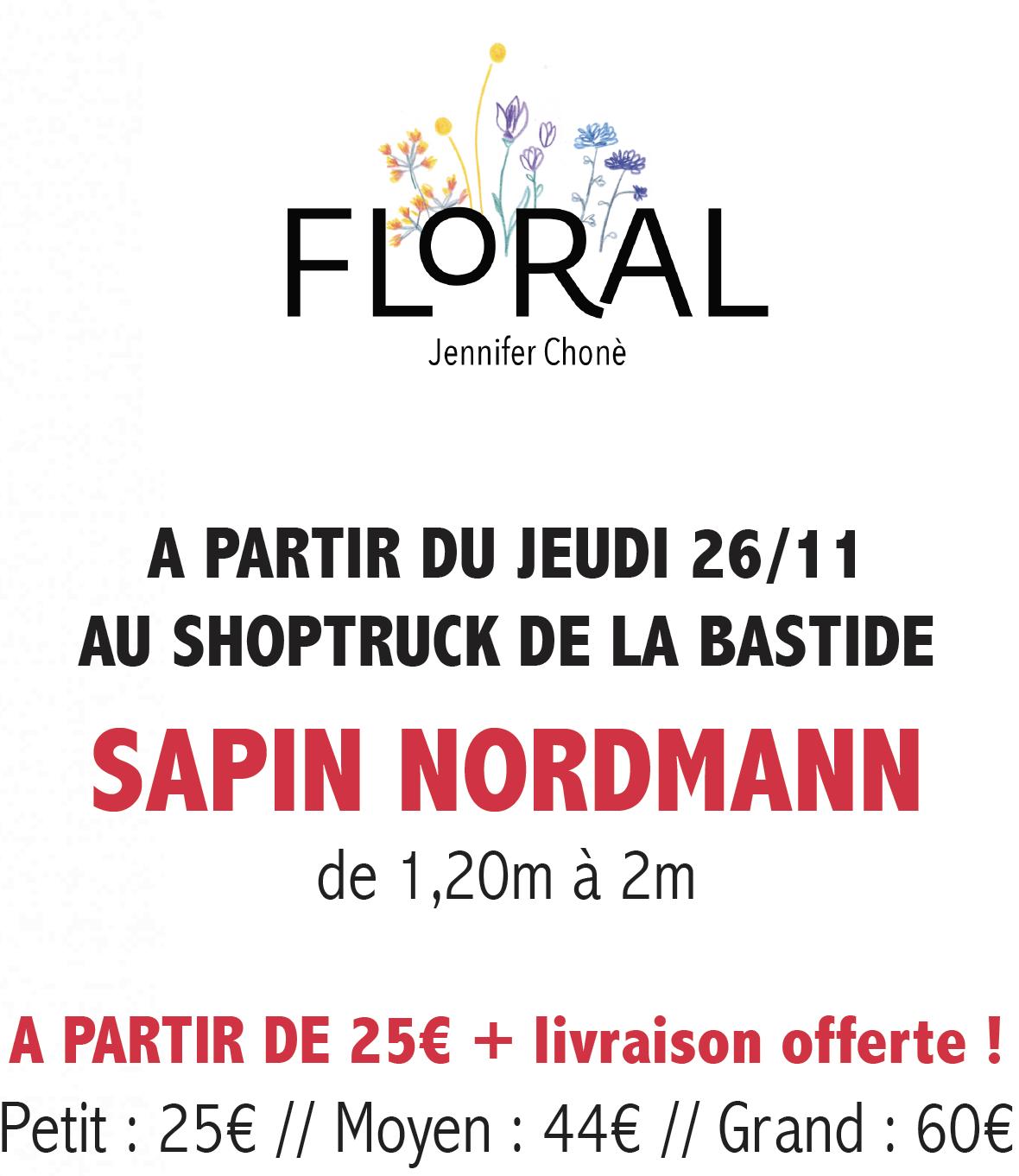 LES COMMERCES DE LA BASTIDE-Affiche-Floral-2020-12-sapin 3