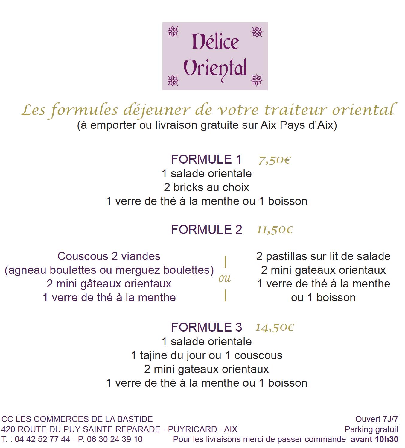 Les Commerces de la Bastide-Délice Oriental-flyer-formules-2020-11-2