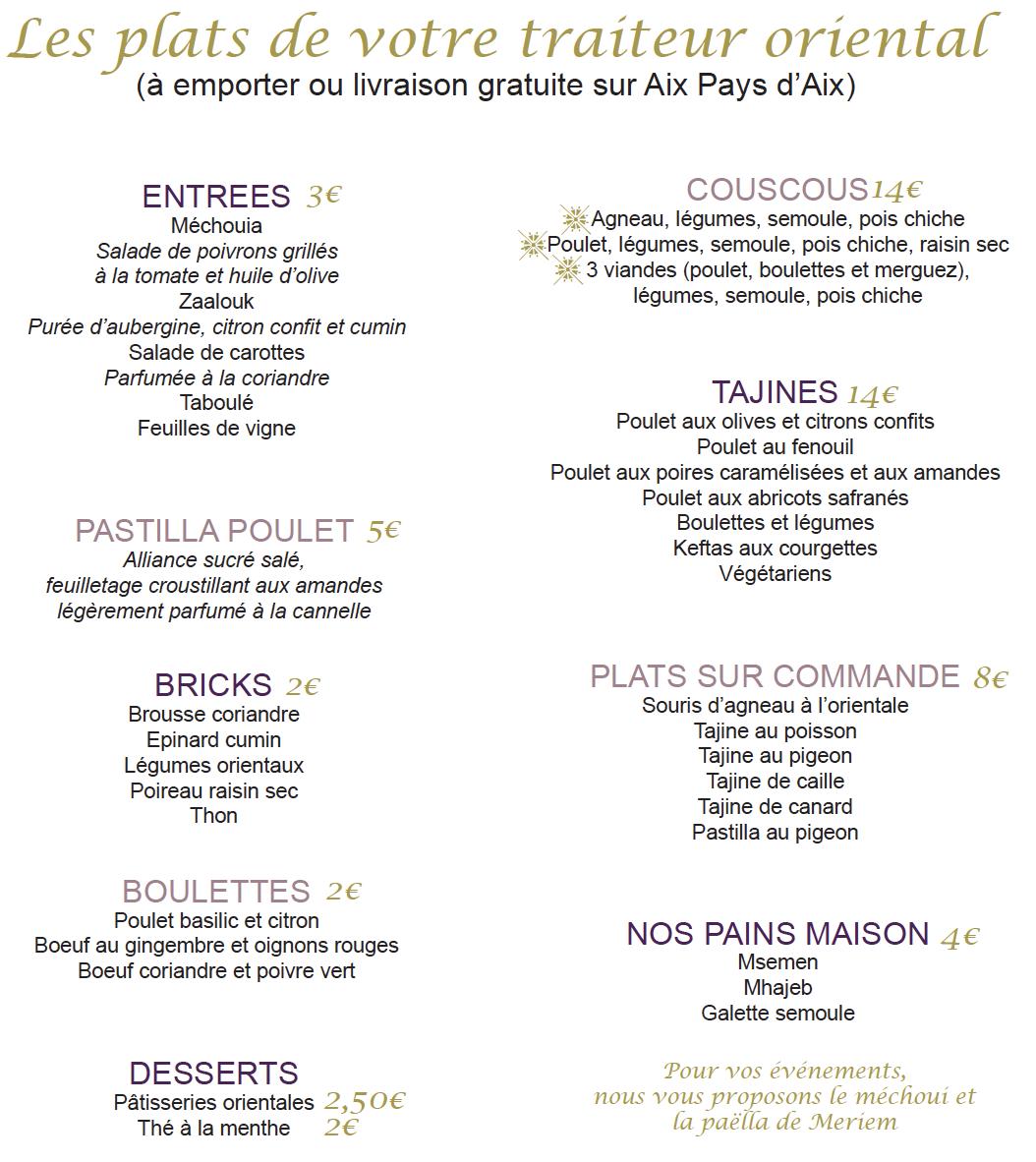 Les Commerces de la Bastide-Délice Oriental-flyer-plats-2020-11-2